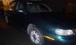 Toyota Green, 4 Door, 6 Sylinders, Automatic. leather seats Loaded with features + power drivers seat, traction  CD, cold a/c, cruise control, info option & OnStar. and a 1998 Malibu, Chev is also on sale for $1600 lovely care brandnew tyres loaded, cd