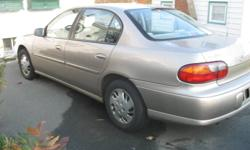 Selling 1997 Chev Malibu for parts or possible repair. Automatic transmission, Quad 4 engine, 117,000 km. Needs some body and exhaust work. Otherwise runs and drives great. Safety expired July, 2011. Call Gary at 463-1993 after 5PM please.