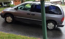 Make Dodge Model Caravan Colour Blue Trans Automatic Grandma owned and regularly maintained! In great condition, double sliding doors, power windows/locks, cruise control, 166,000 kms, recent brake job and brand new battery, tires 65%, servicing always