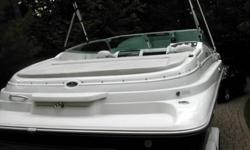 23 foot cuddy cabin cruiser with pump out head and 12-120 volt refigerator freash water sink. anchor locker Bimini top and camper 5.7 litre Mercuiser alpha with 300 hours tuned and new bellows 2010 trailer included Gps, radio   DORAL 230 CC 1997