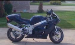 I have for sale a 1997 sizuki Gsxr 750 srad edition runs and rides like a brand new bike lots of power. I just repainted the bike 2 brand new tires on it brand new clutch cable I just had the carbs cleaned out and re-synched. Comes with Joe rocket jacket,