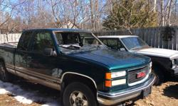 Parting out a 1998 GMC Sierra Z71 off-road 4x4, Constance Bay, pick up only 613-293-8111 leave message . SOLD windshield for $100, sold complete rear end with hubs and shocks for $100, and sold complete tailgate for $50 that's all so far ..... FOR SALE