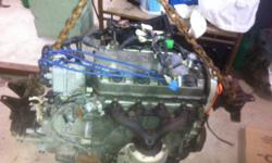 1998 honda civic cx D16Y7 engine and manual transmission alternator 200k most is highway driven   $200.00 O.B.O and no ginds in transmission also have engine wiring harness ...also have video showing the engine works be for i pulled it