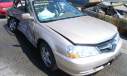 ACURA 3.2TL (1999/2003/ ST#GLAP/651/ONT/660) PARTS ONLY   CALL GREEN LANE AUTO PARTS ASK FOR MIKE IF YOU NEED ANY OTHERS PARTS THIS CAR IS NOT FOR SALE PLASE DONT SEND ANY EMAIL CALL (905) 762-0888 ASK FOR MIKE WE HAVE ALL PARTS FOR THIS CARS