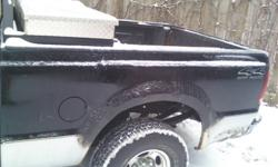 This is a 6 1/2 box that fits a 1999-2010 ford f-250 or f-350 Superduty, there are some sections that are beginning to slightly rust. Cross members are in great shape and has been undercoated yearly. Box does not include tailgate, lights, toolbox, liner