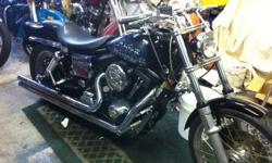 1999 harley davidson dyna wide glide -new paint-3 degree rake in the trees- RBLT- $6,500 o.b.o.- call K.C. AT 1-519-755-1545
