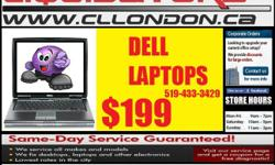 COMPUTER LIQUIDATORS www.Cllondon.ca     We Sell New/Used Laptops /Desktops/ Tablets/LCDs/TVs We are a Legitimate Business who Has Been Operating in London for More than 10 Years. Ready to Use PC's and Laptops, Just a Click of A Button Away!! Great for