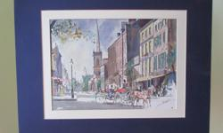 """22"""" x 19"""" set of 3 prints of watercolours located in Mill Bay"""