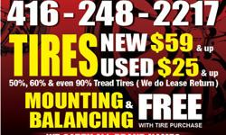 SALE SALE 1 265/35/19 MICHELIN PILOT 85% TREAD $125 THIS TIRE COST $380 WE MOUNT&BALLANCE FREE!!! 416 248 2217 J&M TIRESHOP LTD