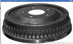 1 - 8870 REAR BRAKE DRUM 1971 - 86 BUICK ELECTRA 1971 - 79 BUICK ESTATE 1992 - 92 ROADMASTER 1977 - 84 CADILLAC COMMERICAL 1977 - 84 DEVILLE 1977 - 93 FLEETWOOD 1971 - 72 BELAIR 1987 - 93 CAPRICE 1971 - 85 DELTA 88 1975 - 79 BONNEVILLE $30.00 613 920