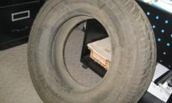 1 ea Terra Trac TR LT 245/70R16 Tire  Like New.   $60.00   Please email thru Kijiji.