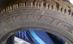 Nordic Track Mud and Snow Tire 175 65R 14 Only 1 but good to replace or as a spare 1 - Nordic Track Mud and Snow Tire 175 65R 14 New = 120.00 Call Bill - 402-8762