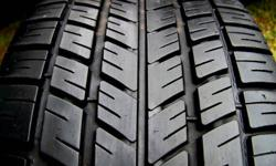 SINGLE TIRE BF GOODRICH TRACTION T/A ALL SEASON TIRE 215 55R 16 $50 TAKES IT ONLY 1 TIRE AVAILABLE 705-252-2979 2 BLOCKS OFF THE 400 IN BARRIE