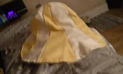 contact diane at 613-299-9840. I am in the west end of Ottawa, ontario-westboro. I can meet at most places for pickup. ?I have 1 yellow, white and green reversible sun hat for sale.....20.00 i sewed it myself. Took me a few days to sew it..has a nice