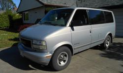 Make GMC Model Safari Colour gray Trans Automatic kms 305000 Old beater 2000 GMC Safari work van. V-6, No rust. Starts/runs (rough) Stops (barely) Needs brakes, exhaust, tune up, tires and maybe more. $300 O.B.O. Buyer must take possession Tues. May 3rd.