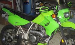 "2000 KLR650 ""C"" model custom, Jardin header,jet kit,air filter,aluminum handlebars with hand gaurds,new tires,and paint, will easily cert.!!! A  rare supermoto/cutom bike !!!!3000.00 OBO Ken"