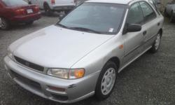 Make Subaru Model Impreza Year 2000 Colour Silver kms 280311 Trans Manual Good little beater with a heater. Runs smooth, tires are almost new. Clutch seems to grab good. Come down and see it!