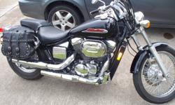 Great condition, fluids changed regularly and well maintained. Just needs new tires. Rides beautifully and looks cool. Not many of these on the street. Call for details. NO TRADES  Rode with no saddle bags this summer but have them still and go with the