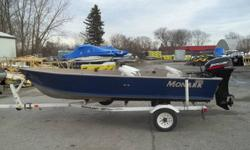 MINT CONDITION, COMES WITH 25 MERCURY BIGFOOT 4 STROKE. ELECTRIC TROLLING MOTOR, FISHFINDER, 3 SEATS, ROD HOLDERS   SEE http://www.precisionpowersports.ca FOR MORE DETAILS
