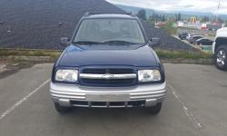 Make Chevrolet Model Tracker Year 2002 Colour Blue/Silver kms 169000 Trans Automatic Great shape, 4x4, power windows, Call or message for more details. Dealer#81154 Brodie Paxton