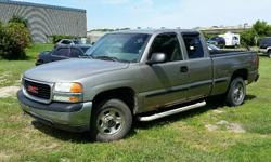 Make GMC Model Sierra 1500 Year 2002 Colour Grey kms 305950 Trans Automatic 2002 GMC Sierra 1500 SL 4X4 Extended Cab 4.8l V8, Automatic, ABS, A/C, Cruise, Bedliner, Running Boards. 305,950KM Certified with E-Test. Taxes are not included in listing price.