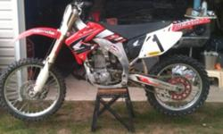 I have a 2002 Honda crf450, this big is mint with lots of extras. It has 8 hours on the motor since rebuilt. It has a Jardin exhaust that makes this bike LOUD as hell, boyseen water pump and lots of others. Please call or txt 2892571993 Bike has to go