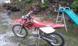 excellent bike, never had a problem with it yet. starts first kick, recently put a new back tire on it, im asking $1300 O.B.O. email me for more info CASH ONLY!! call or email if interested