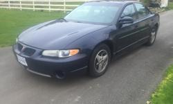 Make Pontiac Model Grand Prix Year 2002 Colour Blue kms 218500 Trans Automatic 2002 Pontiac Grand Prix GT 218000km Automatic transmission 3.8 Liter V6 Engine Fully loaded with leather,heads up display,heated seats,cruse control and all power options. And