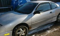 for sale 2002 sunfire 2.2 motor 5speed  for parts or fix, $600.00  obo new rack & tie rod ends(not installed) $200.00 obo phone 624-6361