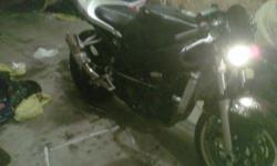 i have for sale a perfectly running gsxr stunt bike, bike run beautiful and is on the road now. . call or email. 5197843350