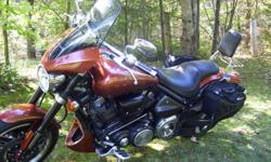 2002 Yamaha Roadstar Warrior 1700 bike has 32643km on it.Comes with Cobra two into one exhaust,Yamaha fairng and drivers footboards.Custom passanger foot boards and aftermarket backrest.Has Gears rear soft saddlebags.Has had recent front and rear Metzler