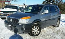 Make Buick Model Rendezvous Year 2003 Colour Red kms 220980 Trans Automatic 2002 Buick Rendezvous CXL 3.4l V6, Automatic, ABS, A/C with Climate Control, Cruise, CD, power locks/windows/mirrors & seats. Heated leather & OnStar! 220,980 KM. Runs great,
