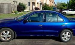 Make Chevrolet Model Cavalier Year 2003 Colour Superman Blue kms 246000 Trans Automatic -eTested this month -mostly highway KMs -very reliable, excellent commuter car -cd/am/fm stereo system -pw,pl,ps -traction control system -new tires -new alternator