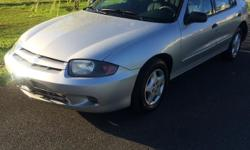 Make Chevrolet Model Cavalier Year 2003 Colour Silver kms 150000 Trans Automatic 2003 Chevrolet cavalier 150000km Automatic transmission 4cl engine 4 door Air condition Car runs great and has no issues Very clean inside and out Super fuel efficient Call