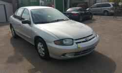 Make Chevrolet Model Cavalier Year 2003 Colour Silver kms 168000 Trans Automatic Nice car, loaded with power windows, power locks, CD premium sound system, air conditioning, cruise control, full trip computer with display, tilt steering, ABS brakes,