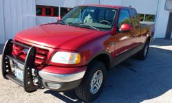 Make Ford Year 2003 Colour RED Trans Automatic kms 190000 Up For Sale is a 2003 Ford F-150 extended cab 4x4. $5500 Certified OR BEST (ANY) OFFER Is A Daily Driver This is a one of a kind F-150. It has a 4.6L engine, shift on the fly 4-wheel drive, engine
