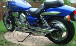 2003 Magna in MINT condition. Extremely low miles. This is the last year of production for the Magna. The bike has just been certified and is ready to go. Completely stock, no modifications. The engine is a V4 cylinder liquid cooled with a 5 speeds. You