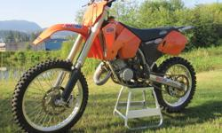 I am looking to upgrading my bike next year with a 300 and I have a couple bikes already. Don't really want to see it go because it is such a fun bike to throw around. It has a new cylinder, rear and front suspension rebuilt, never wear rear sprocket with