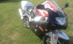 2003 suzuki gsx-r 600 new tires pirelli in hreat condition selling cheep hav no time for it also comes with gsx-r jacket 862 2776
