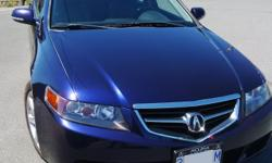 Make Acura Model TSX Year 2004 Colour Blue kms 165562 Trans Automatic I'm the 2nd owner, purchased in 2005. Lady driven and the car is in a great condition. It's always been well maintained...gets good gas mileage and is very comfortable to drive. Now