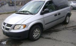 Make Dodge Model Caravan Year 2004 Colour Silver kms 174000 Trans Automatic 2004 Dodge Caravan - 5 door, 7 passengers minivan, 6 Cyl. 3.3 litre engine. automatic, 174,000 KM's. - CD Player, power steering, power locks, power windows, A/C, - Body is dented