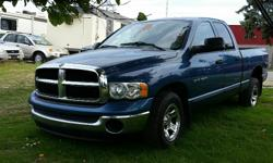 Make Dodge Model Ram 1500 Year 2004 Colour Blue kms 192000 Trans Automatic 2004 Dodge Ram SLT V8 4.7l V8, Automatic, ABS, A/C, Cruise Control, Power windows/locks/mirrors. Bedliner. 192,000 km. Certified with E-Test included. Taxes are not included in
