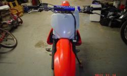 2004 Honda crf 150, excellent condition,all stock ,new tires and drive chain, ready to go under the tree