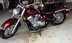Bike in great shape, runs well, well maintained, always in garage. Call 705-542-6923 to come take a look!!