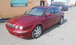 Make Jaguar Colour red Trans Automatic kms 147000 2004 JAGUAR , X TYPE , 3.0 L V6 , ALL WHEEL DRIVE , GREAT RUNNING CONDITION , 147 000 KMS ON IT ONLY , FULLY LOADED , GREAT TAN LEATHER , POWER LOCKS ,WINDOWS AND MIRRORS, POWER SEATS , MUST BE SEEN !
