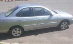 Make Nissan Model Sentra Year 2004 Colour Silver kms 91500 For sale by owner is a 2004 Nissan Sentra that is in excellent condition with extremely low km. This vehicle is fully loaded with 91,500 km. Ready to go to its new owner today! The car just had a