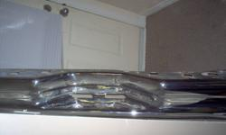 ford crome rear bumper 2004  for sale asking  $ 100.00 takes it                  519-381-4474  or email mail