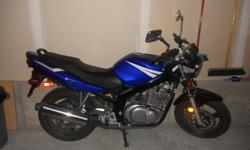 Excellent mechanical condition. Very smooth ride with good power. Great for commuting or touring around. Excellent beginner or intermediate motorcycle. $3000.00 o.b.o.
