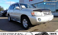 Make Toyota Colour Beige Trans Automatic kms 188000 Toyota Highlander is an excellent choice as a no-hassle wagon. Its ease of operation and convenience features make it eminently easy to live with. Highlander carries four people in comfort, hauls a lot