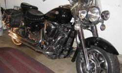 Great for cruising or long trips. Nice rumble with aftermarket pipes. Comes with extra rear rack for long trips. Hate to let it go, but no time to ride. Well maintained. New rear tire and front brakes last year. Past safety in 2010. Spring is coming and